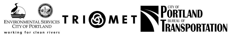 BES_TriMet_PBOT logos