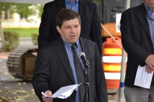 City of Portland Commissioner Steve Novick at the 6/27/13 news conference