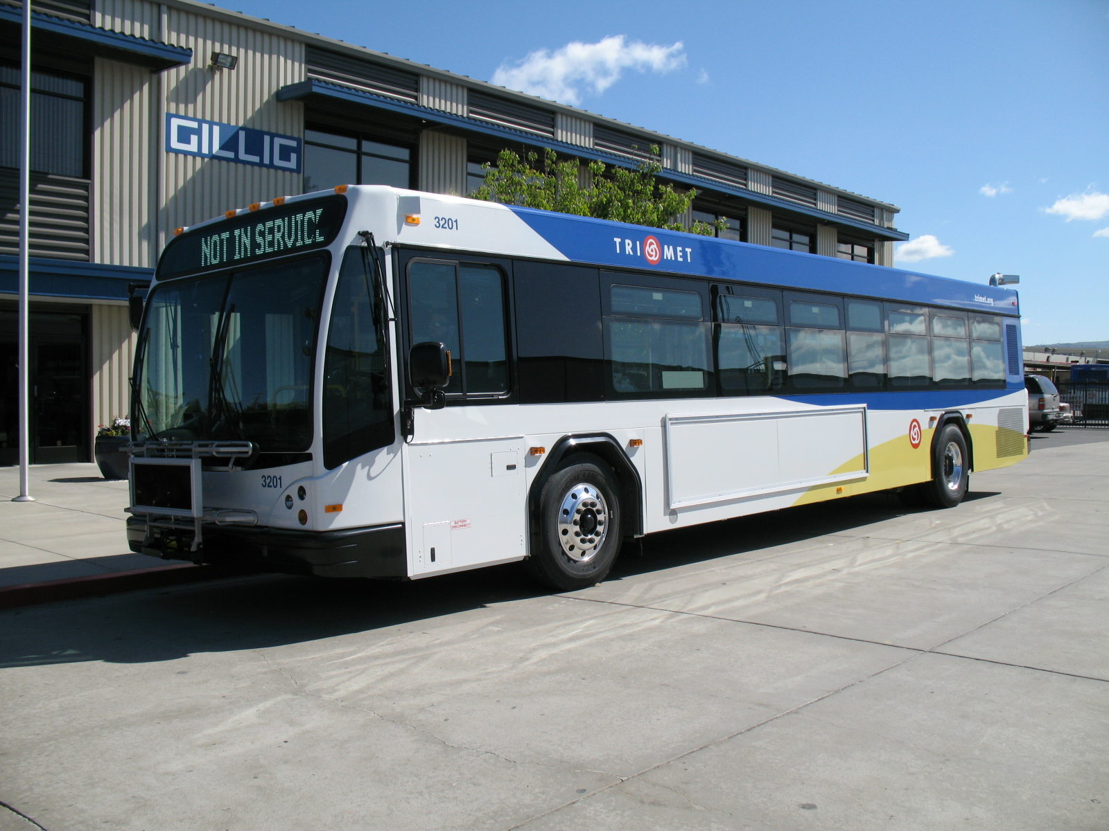 as new trimet buses roll off the assembly line, old buses get