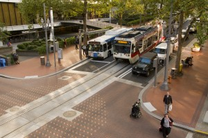 The Portland Transit Mall designated one of 10 Great Streets in America