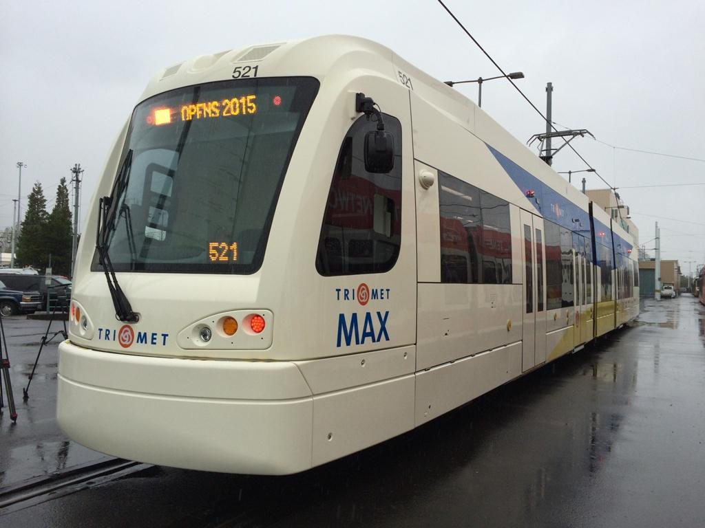 TriMet unveils next generation of MAX trains | TriMet News
