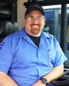 TriMet bus operator Roger Knowles
