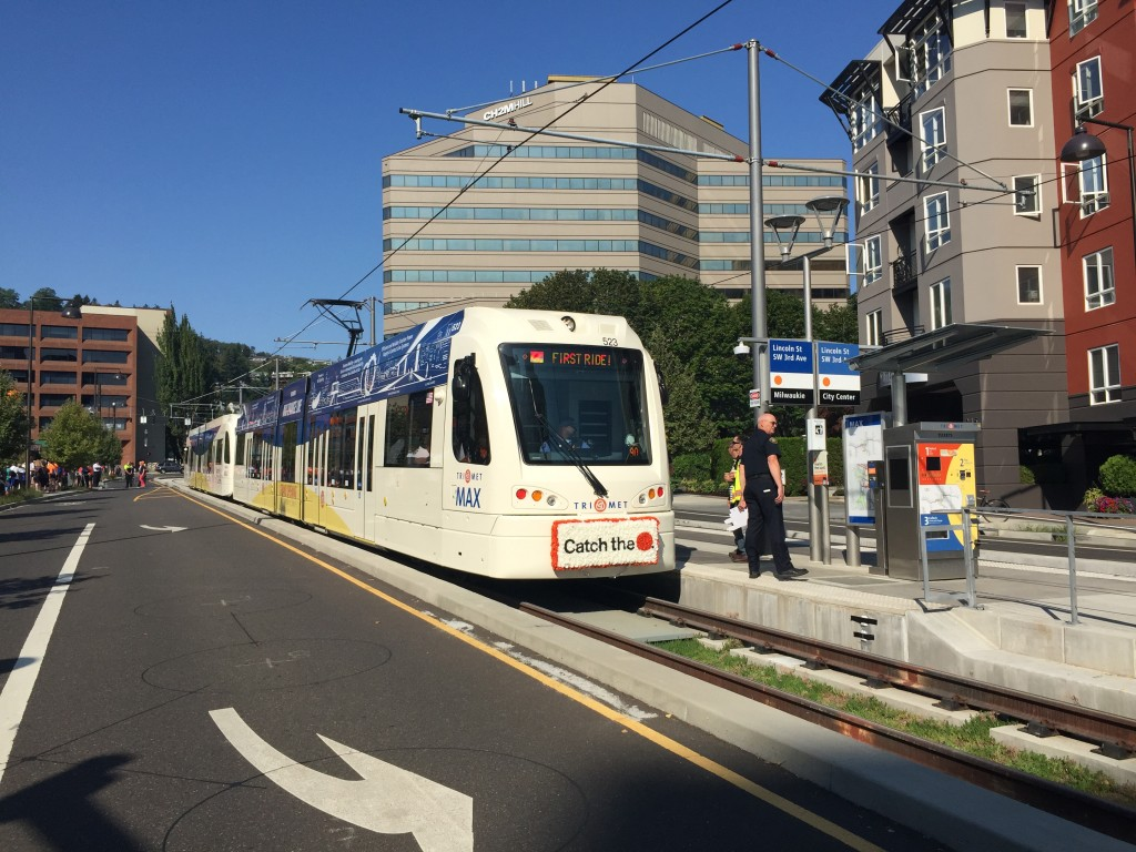 The MAX Orange Line is officially open!