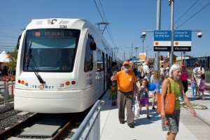 September 12, 2015- Portland, OR- Grand Opening event for TriMet's  Portland-Milwaukie Light Rail Transit Project (PMLR). Licensed for all uses by TriMet.