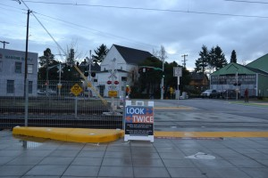 Concrete curb added to SE 12th Ave.