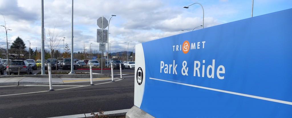 TriMet Park & Ride