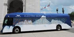 TriMet awarded $3.4 million to purchase four electric buses