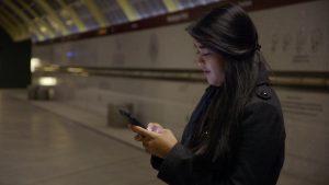 texting-on-platform