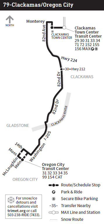 Clackamas County gets a new bus line and quicker trips with TriMet's on