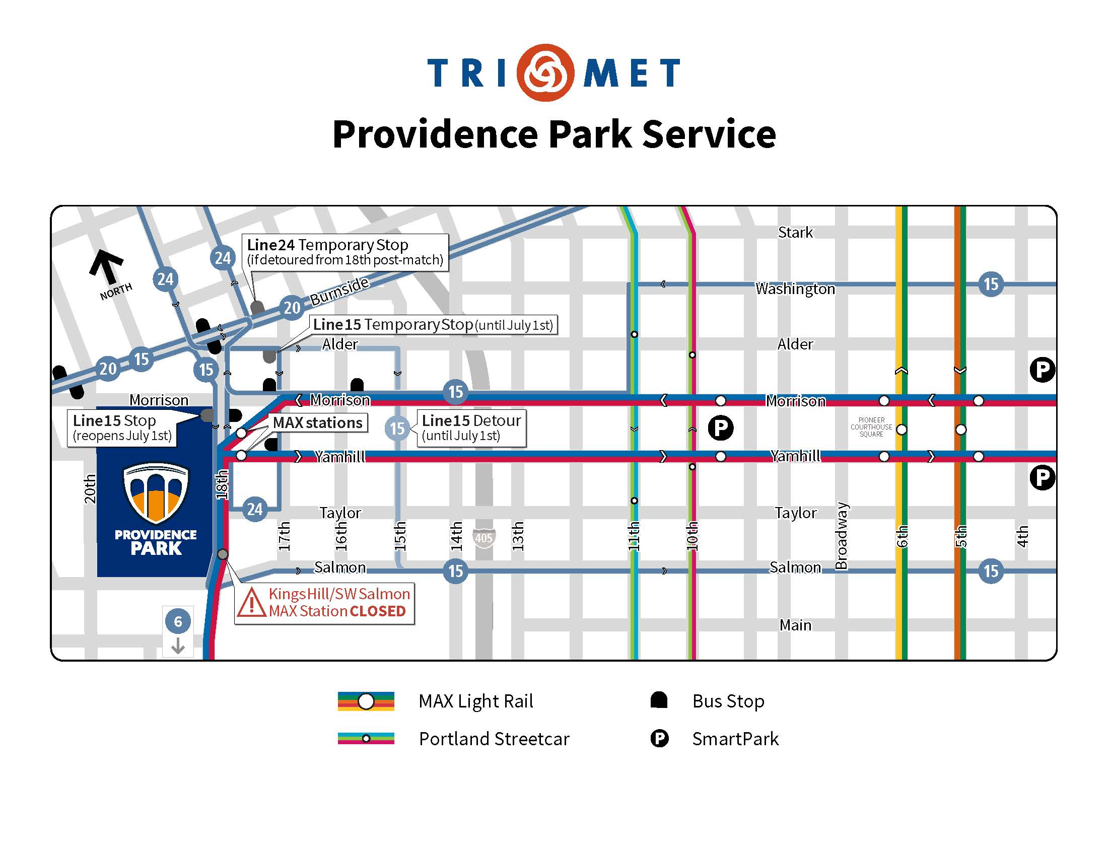 Trimet Adding More Buses Trains During Timbers Home